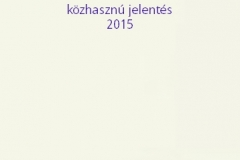 Közhasznú 2015
